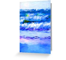 Little Waves 1 Greeting Card