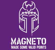 Magneto Made Some Valid Points - Dark Background T-Shirt
