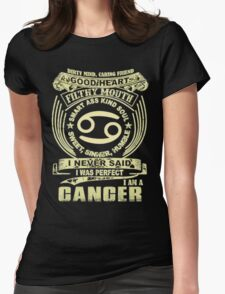 Cancer Womens Fitted T-Shirt