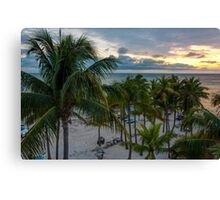 Palms at Key West Canvas Print