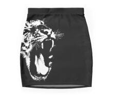 Monochrome Tiger Mini Skirt