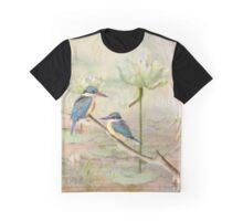 Sacred Kingfisher Graphic T-Shirt
