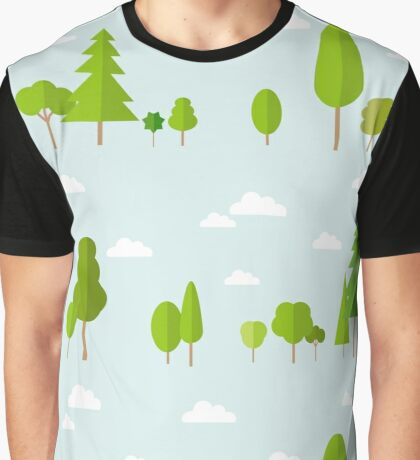 Trees Decor Nature Love Graphic T-Shirt