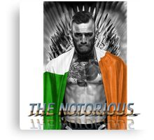 UFC The Notorious Canvas Print