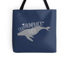 Crazy Humpback (whale) Lady Tote Bag