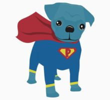 Pugsy Be a Super Hero Kids Clothes