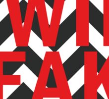 Twin Peaks Icon Sticker