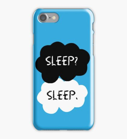 Sleep? Sleep. iPhone Case/Skin