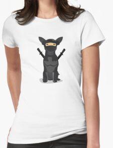 Orbit Ninja Be Prepared Womens Fitted T-Shirt