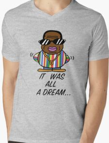 -MUSIC- It Was All A Dream Mens V-Neck T-Shirt