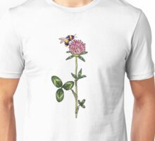 Red clover pattern Unisex T-Shirt