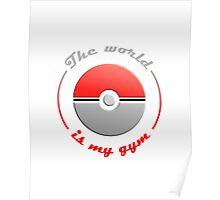 Pokémon GO inspired (fan art) - Lighter colours Poster