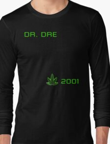 -MUSIC- Dr Dre 2001 Cover Long Sleeve T-Shirt