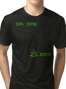-MUSIC- Dr Dre 2001 Cover Tri-blend T-Shirt