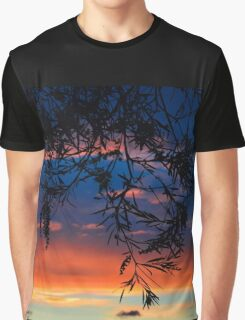 Sunset Silhouette Graphic T-Shirt