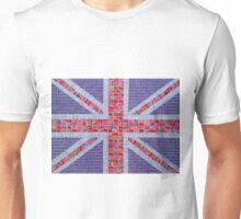Union Jack - Purple Unisex T-Shirt