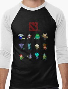 dota 2 pixelbatch Men's Baseball ¾ T-Shirt