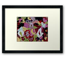 i can feel it changing me Framed Print