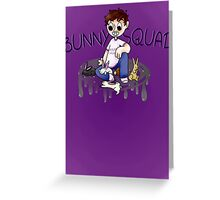 Bunny Squad!! Greeting Card
