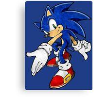 -GEEK- Sonic The Hedgehog Canvas Print