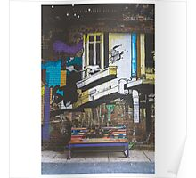 Graffiti Bench Poster