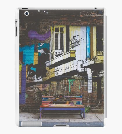 Graffiti Bench iPad Case/Skin