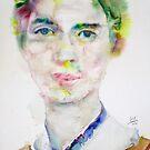EMILY DICKINSON - watercolor portrait.3 by lautir