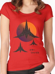 Space Mercs Women's Fitted Scoop T-Shirt