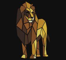 Shape of Lion Baby Tee