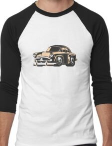 Cartoon retro car Men's Baseball ¾ T-Shirt