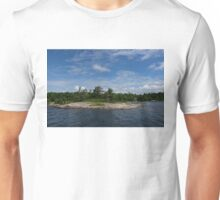 An Island of Pink Granite - Georgian Bay Canadian Landscapes Unisex T-Shirt