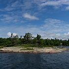 An Island of Pink Granite - Georgian Bay Canadian Landscapes by Georgia Mizuleva