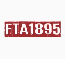 FTA 1895 (RED) Kids Tee