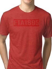 FTA 1895 (RED) Tri-blend T-Shirt