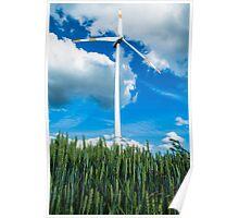 Turbine Power  Poster