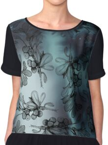 Ink Berry Love Women's Chiffon Top