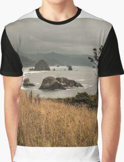 The Subtle Elegance Of The Oregon Coast - 1 ©  Graphic T-Shirt