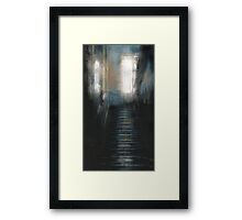 just looking in Framed Print