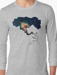 Galaxy Smoke Long Sleeve T-Shirt