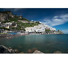 Time moves slowly in Amalfi (2) Photographic Print