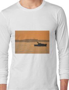 Fishing The Evening Tide Long Sleeve T-Shirt