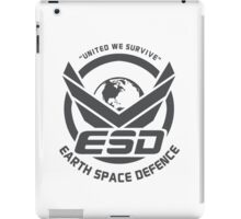 Earth Space Defense iPad Case/Skin