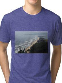 The Subtle Elegance Of The Oregon Coast - 3 ©  Tri-blend T-Shirt