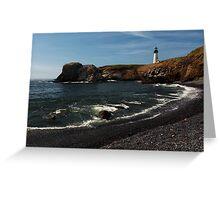 Lighting The Oregon Coastline ©  Greeting Card