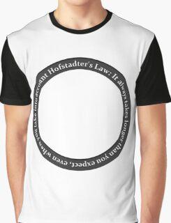 Hofstader's Law Graphic T-Shirt