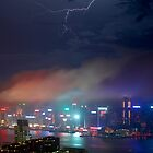 Hong Kong Lightning by MichaelKe