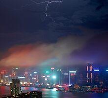 Hong Kong Lightning by MichaelKe