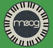 Wonderful vintage moog synth Kids Tee