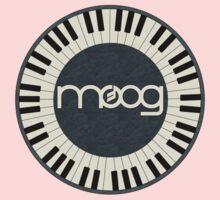 Wonderful vintage moog synth Kids Tee