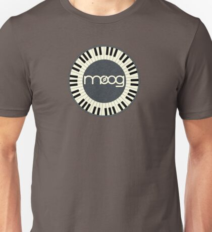 Wonderful vintage moog synth Unisex T-Shirt
